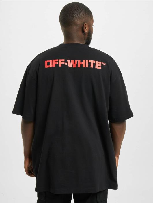 Off-White Tričká Dematerial èierna