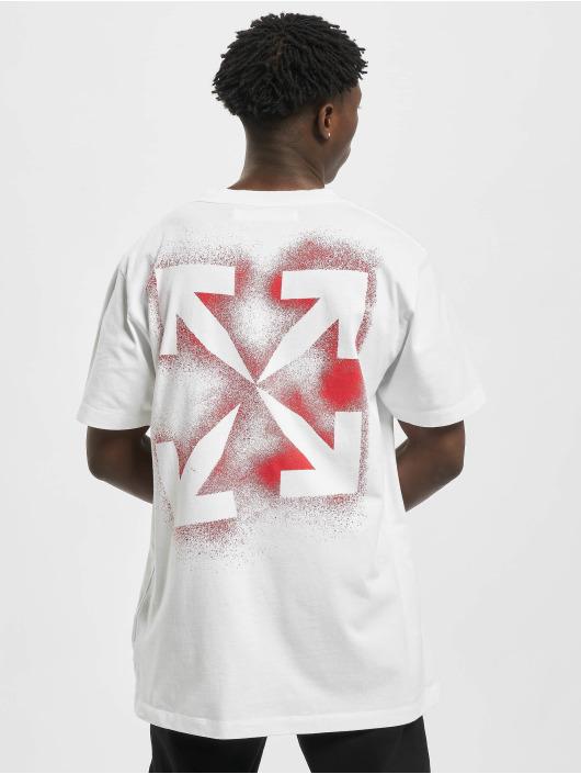 Off-White Tričká Stencil S/S biela