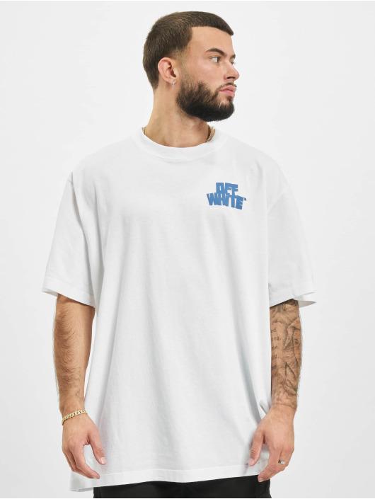 Off-White Tričká Hands Arrows Slim biela