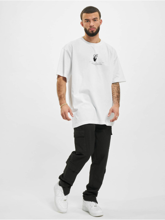 Off-White Tričká Graff biela