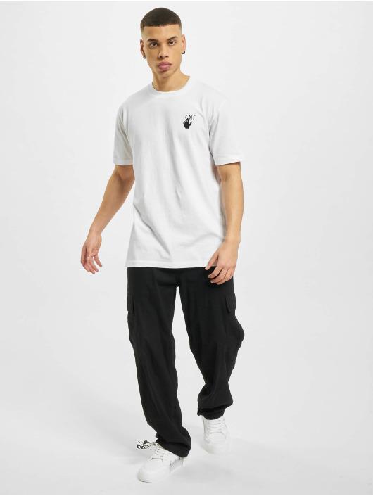 Off-White Tričká Marker biela