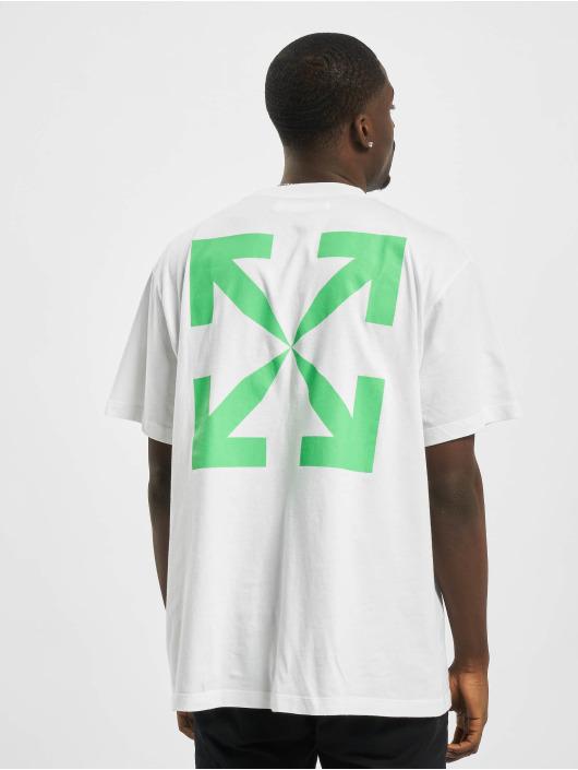 Off-White Tričká Pascal Print zelená