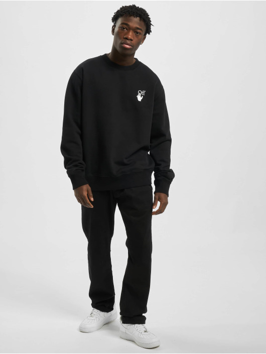 Off-White trui Cut Here Slim zwart