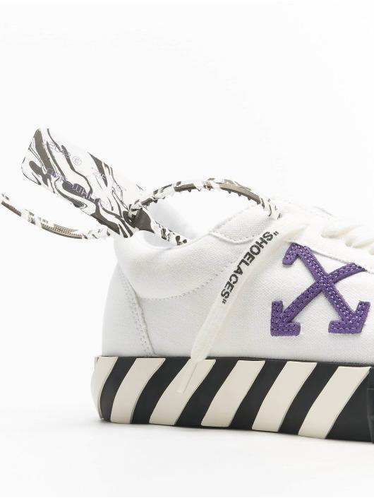 Off-White Zapatillas de deporte Low Vulcanized Canvas blanco