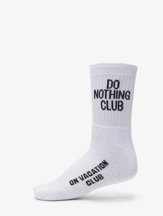 On Vacation Calzino Do Nothing Club bianco