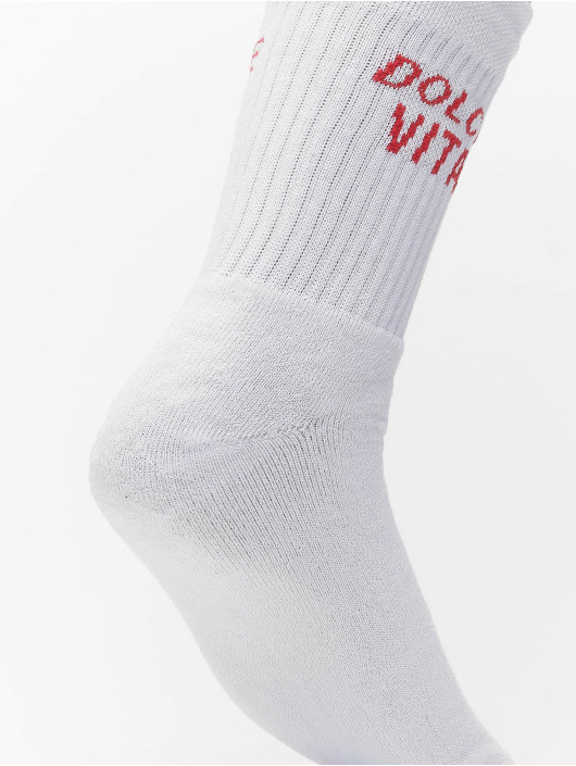 On Vacation Chaussettes Dolce Vita blanc