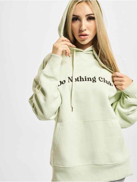 On Vacation Hoodie Bubbly Do Nothing Club green