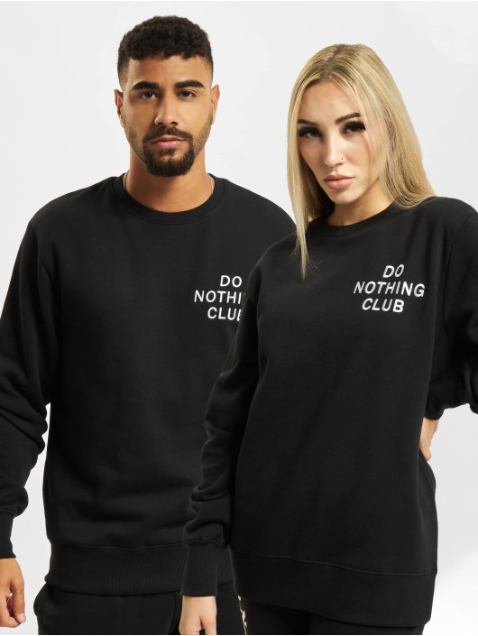 On Vacation Pullover Do Nothing Club schwarz