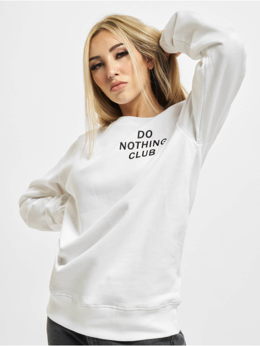 On Vacation Pullover Do Nothing Club weiß