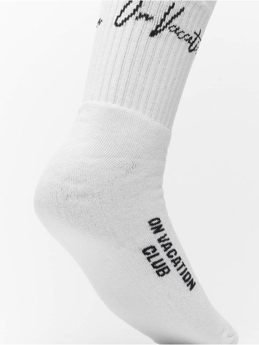 On Vacation Socken Signature weiß