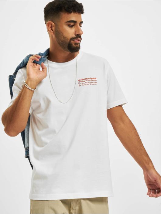 On Vacation T-paidat Less Upsetti valkoinen