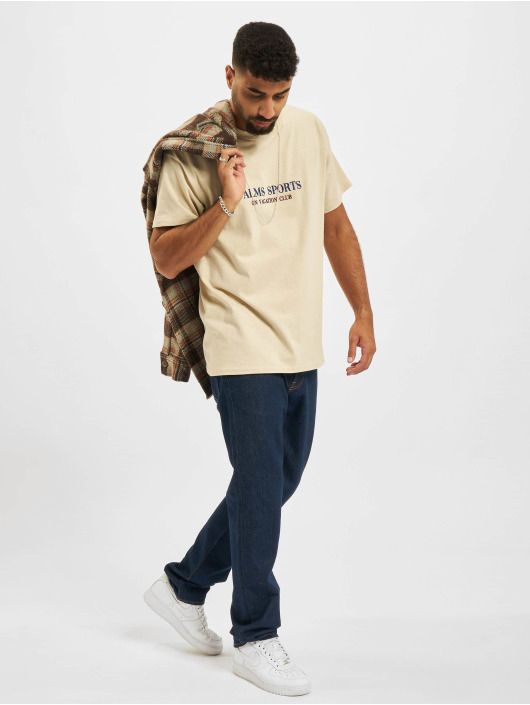 On Vacation T-Shirt Palms Sports beige