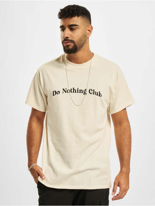 On Vacation T-Shirt Bubbly Do Nothing Club beige