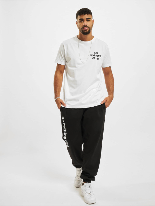 On Vacation T-shirt Do Nothing Club bianco