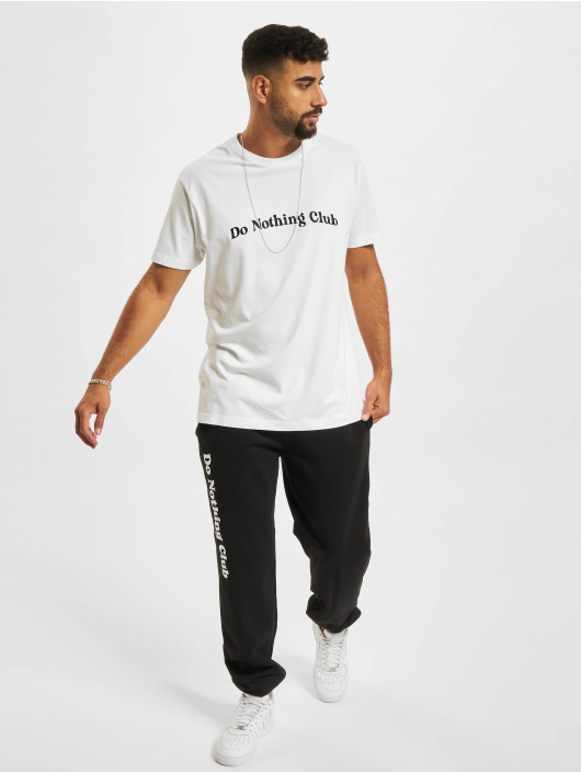 On Vacation T-shirt Bubbly Do Nothing Club bianco