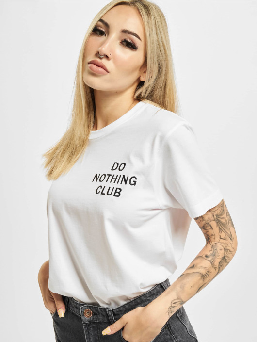 On Vacation T-Shirt Do Nothing Club blanc