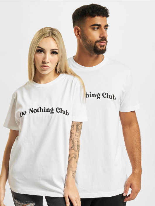 On Vacation T-Shirt Bubbly Do Nothing Club blanc