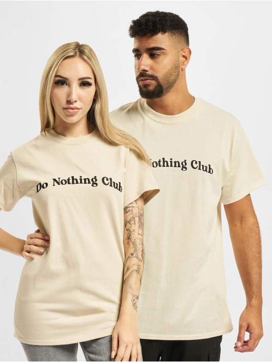 On Vacation T-shirts Bubbly Do Nothing Club beige