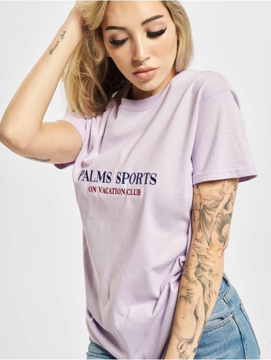 On Vacation T-shirts Palms Sports lilla