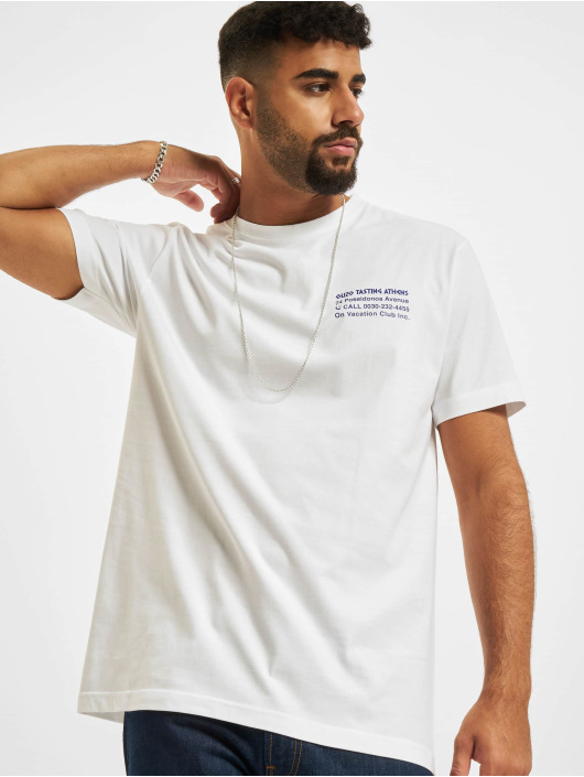 On Vacation T-skjorter Ouzo Tasting hvit