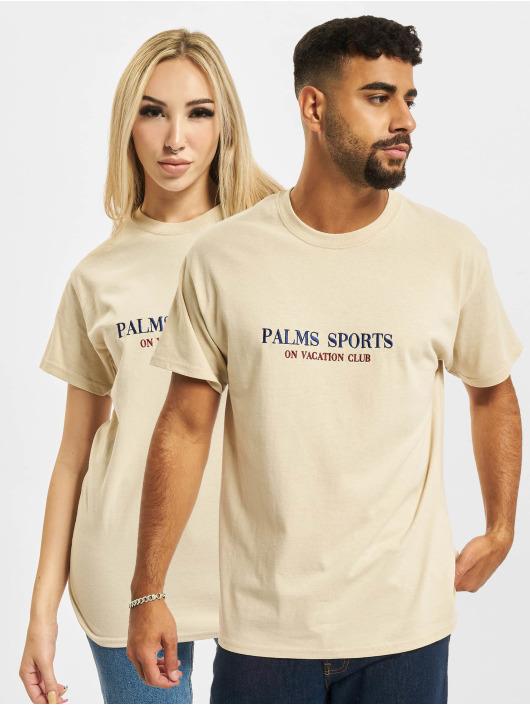 On Vacation Tričká Palms Sports béžová