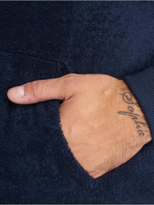 Onepiece Hoodie Towel blå