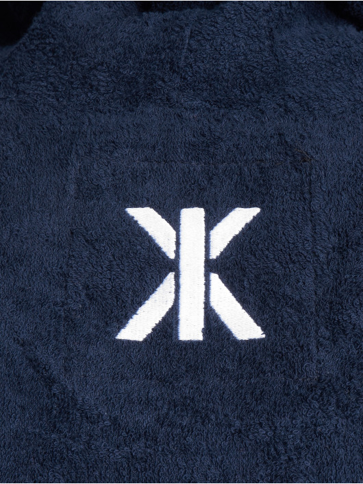 Onepiece Hoodies Towel modrý