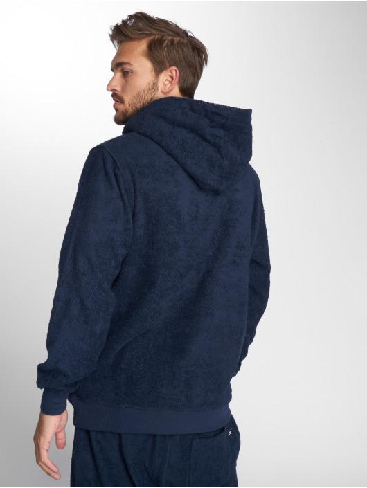 Onepiece Hoody Towel blau