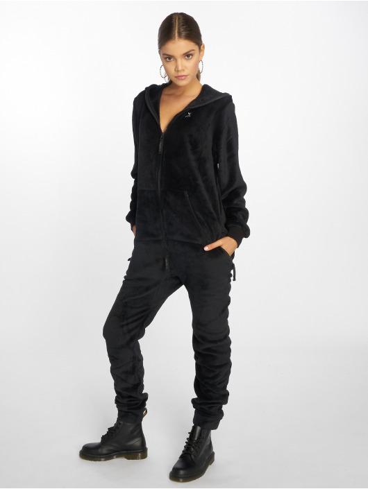 Onepiece Jumpsuits Teddy Hug svart