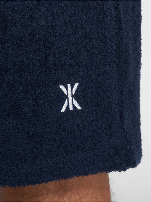Onepiece Shorts Towel blå
