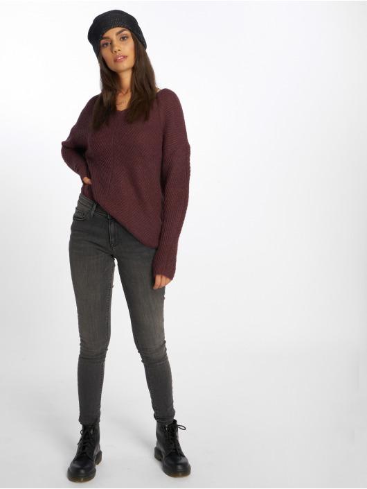 Only Облегающие джинсы onlCarmen Regular серый