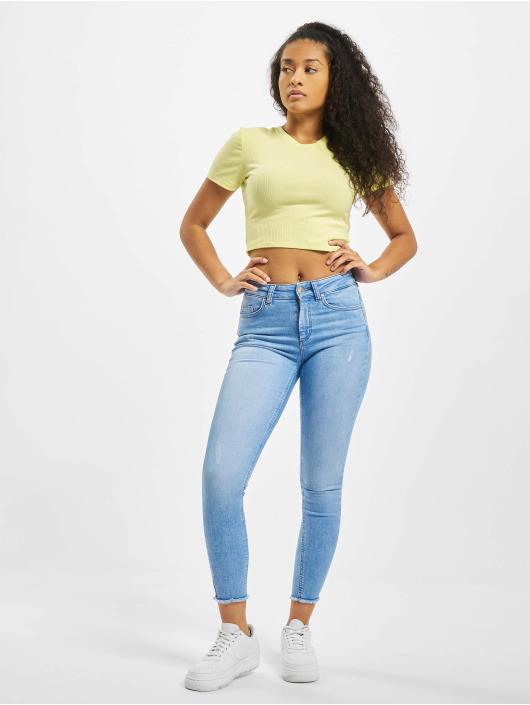 Only Облегающие джинсы onlBlush синий