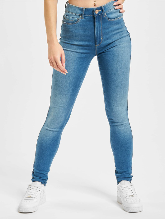 Only Облегающие джинсы Onlroyal Life BJ369 Noos синий