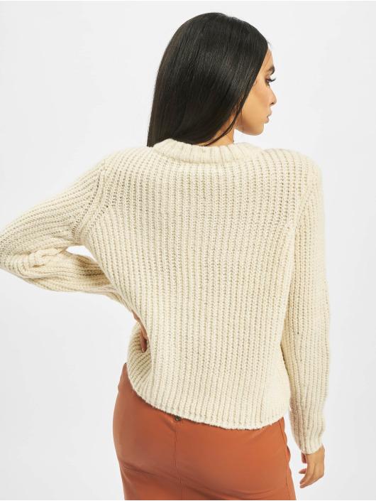 Only Пуловер onlFiona Knit бежевый