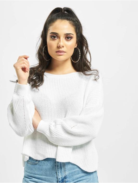 Only Пуловер onlHilde белый