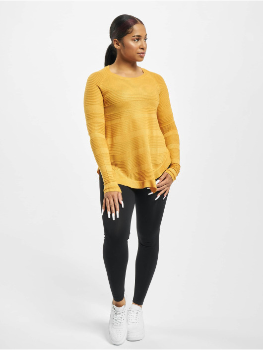 Only Пуловер onlCaviar Knit желтый