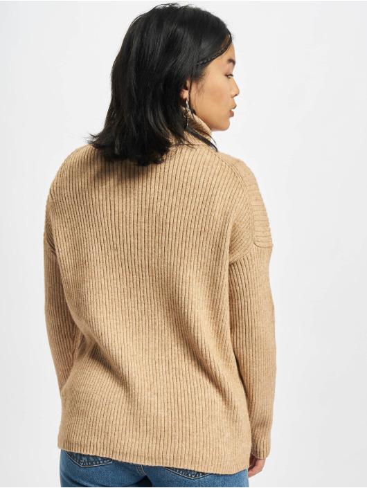 Only Пуловер Katia коричневый