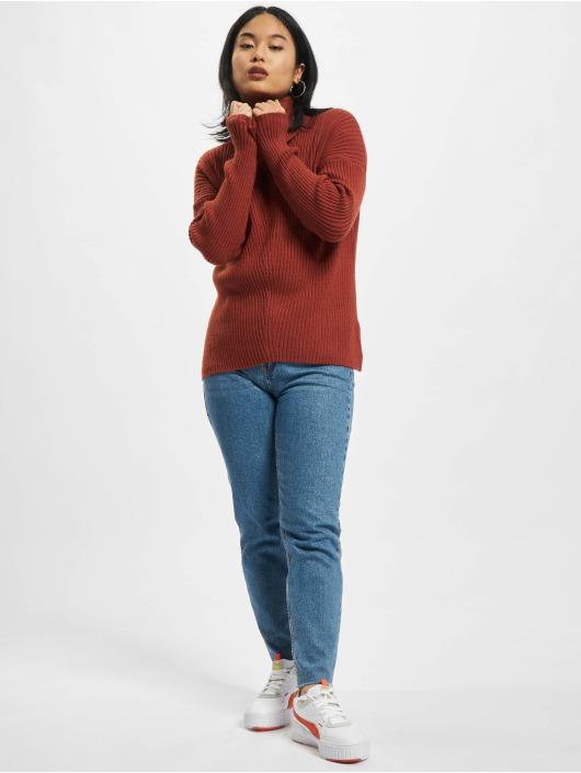 Only Пуловер Katia красный