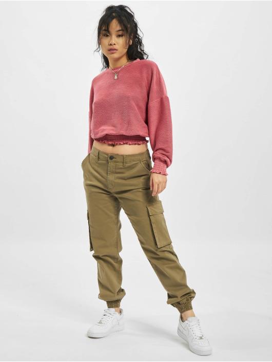 Only Пуловер onlJenka розовый