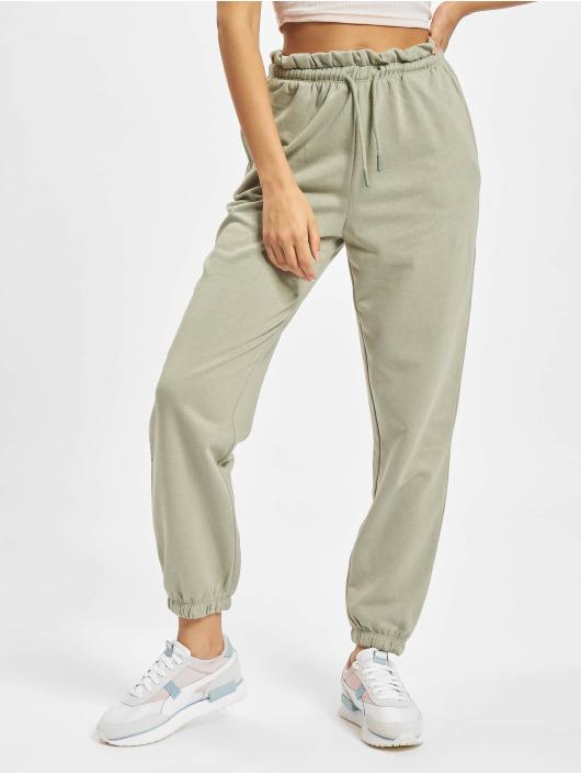 Only Спортивные брюки Onlbless Paperbag зеленый