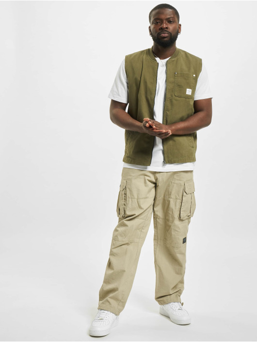 Only & Sons Безрукавка Ons David Life Vest OTW оливковый