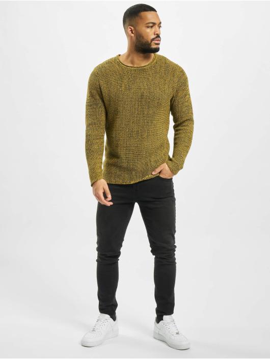 Only & Sons Пуловер onsSato 5 Multi CLR Knit Noos желтый