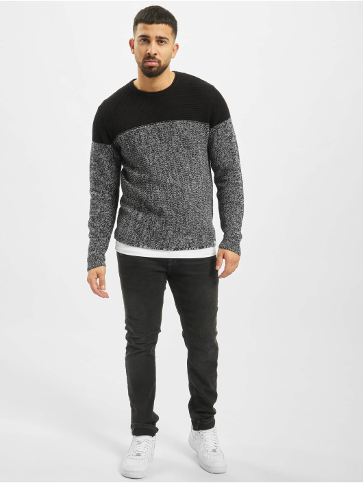 Only & Sons Пуловер onsSato 5 Colorblock Knit Noos синий