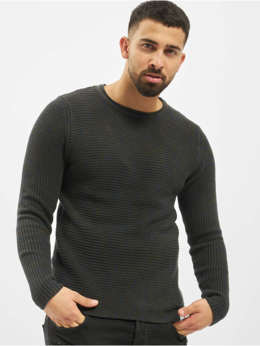 Only & Sons Пуловер onsSato 5 Multi CLR Knit Noos синий