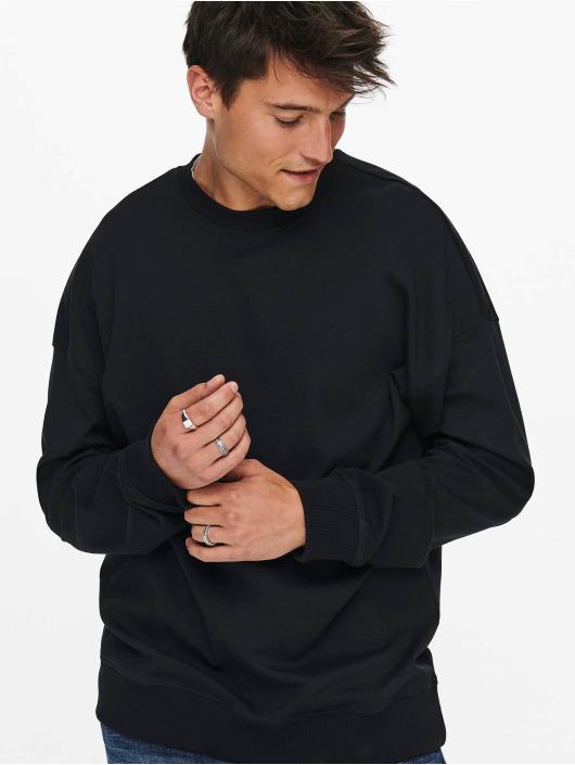Only & Sons Пуловер Onsfilip черный