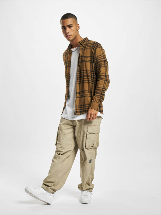 Only & Sons Рубашка Onsnate коричневый