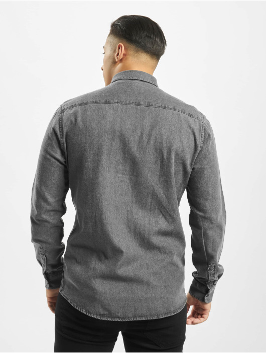 Only & Sons Рубашка Onsbasic Denim серый