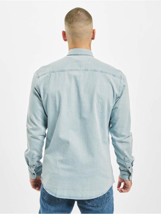Only & Sons Рубашка Onsbasic синий