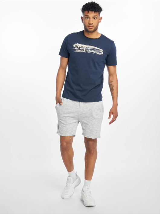 Only & Sons Футболка onsAlbert Front Printed Fitted синий