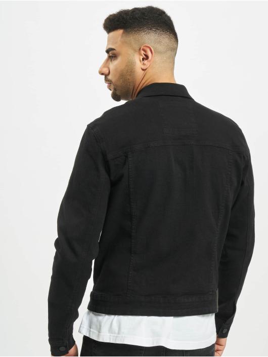 Only & Sons джинсовая куртка onsCome Trucker Denim черный